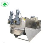La prensa de tornillo de la máquina para lodos industriales Effulent Tratment