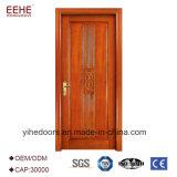 Porte en bois d'hôtel avec la porte en bois intérieure de qualité