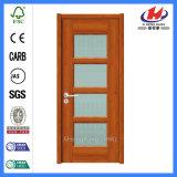 Составная дверь стекла мозаики деревянная (JHK-FD01)