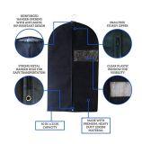 Горячая продажа Логотип складной крышкой экологически безвредные для повторного использования дешевой одежды ткани подушки безопасности