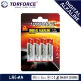 1.5V Digital alkalische Größe der trockenen Batterie-Lr03-AAA beim Blasen-Karten-Verpacken