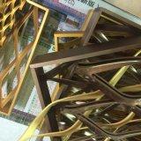 平らにされた拡大された金属の網