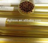 EDM Elektroden-Messinggefäß u. EDM Messingelektroden-Rohr für EDM, das Machineedm bohrt