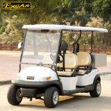 Chariot de golf électrique de bon marché 4 portées avec le transporteur