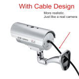 Impermeable seguridad ficticio Outdoor Indoor falso de seguridad de la cámara de vigilancia CCTV