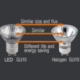 PFEILER 6W DES CREE-GU10 Cer u. RoHS LED Punkt-Lampe