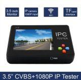 Nagelneue IP-Kamera-analoge Kamera 3.5inch CCTV-Prüfvorrichtung mit Touch Screen und Audios-Satz mit Qualität