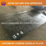 Placa folheada do carboneto do cromo da resistência de desgaste