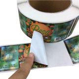 Café personalizado de alta calidad de bebidas/Etiqueta pegatinas adhesivas (JP-adhesivo 001)