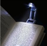 Hot Selling Fashion Promotional Counts Desk LED Reading Light Torch Flashlight Lamp Booklight