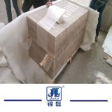 Weiße hölzerne Ader-Marmor-Platten &Tiles für Wand-u. Fußbodenbelag-