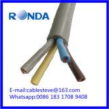 H05VV гибкий кабель электрического провода 4X10 sqmm