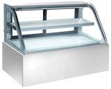 Coffret d'étalage en verre de réfrigérateur/dessert d'étalage de gâteau de nourriture d'épicerie (S870A-M)