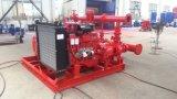 De Dieselmotor van Edj & de Elektrische Pomp van de Brand Motor&Jockey