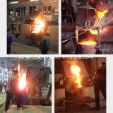 horno fusorio de aluminio de la inducción de frecuencia media de 800kw Kgps