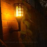 Lumière solaire de clignotement de pelouse de jardin d'éclairage décoratif de flamme de danse de 96 DEL