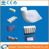 alta fasciatura medica assorbente della garza del pronto soccorso di 7.5cm*10m