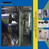 Machine en aluminium de métallisation sous vide d'enroulement de film de PVC