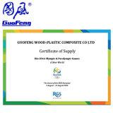 安い価格の連結の木製のプラスチック合成物WPC DIYのDeckingのタイル