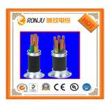 0.6/1kv Yjv 3X50+1X25 XLPE ha isolato il cavo elettrico di rame ignifugo inguainato PVC di memoria