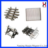 Filtro magnético forte de NdFeB para máquinas da modelação por injeção