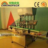 Machine de remplissage automatique de piston pour détergents/du shampooing et du savon liquide/l'huile