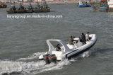 Liya 7.5m de Opblaasbare Boot van Hypalon Hull van de Rubberboot Semi-Rigid Opblaasbare