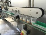 De volledige Automatische Hoogste Partijen die van de Blikken van de Tomatenpuree Machine etiketteren