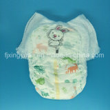 Pantalon de couches pour bébés jetables avec mignon dessin animé de l'impression