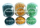 Зеленое Masterbatch для пластичного инжекционного метода литья с сертификатом SGS и ISO