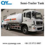 20m3 криогенных LNG Полуприцепе танкерных перевозок топливного бака