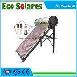 Para Home/escola/Hotel tubo de calor aquecedor solar de água pressurizada de alta eficiência
