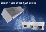 Invólucro metálico admissíveis centrífugas industriais grande cortina de ar do vento