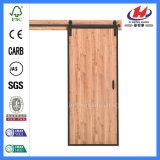 Porte de grange intérieure moulée de matériel de porte coulissante de taquet