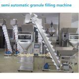 Semi-automatique de remplissage de pesage à fonctionnement double échelles machine de conditionnement d'engrais