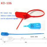 Recipiente de plástico as vedações de envio de Segurança Kd-106