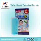 Rilievo di raffreddamento di raffreddamento del gel di emicrania dello strato del gel di febbre per l'adulto del bambino