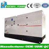 production d'électricité diesel silencieuse de générateur de 180kw 225kVA Yuchai produisant du jeu