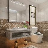 Mattonelle di ceramica lustrate della parete del materiale da costruzione per la decorazione della stanza da bagno