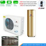 -25c froid l'Ared Cirlce de glycol de la chambre de chauffage au sol de la boucle de chauffage 10kw/15kw/20kw/25kw DC INVERTER Source de masse de la pompe à chaleur