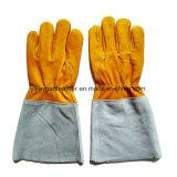 Кожаный перчатки заварки MIG/TIG