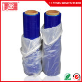 Película protetora azul de película de estiramento de LLDPE