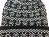 Unisex связанный Beanie шлема зимы печатание POM POM снежка жаккарда теплый (HW152)