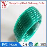 Tuyau en PVC souple colorée clair pour la transparence