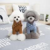 Vestiti 100% del cane dei prodotti del rifornimento dell'animale domestico del cotone con il collare convertibile