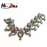 Accettare la catena di cristallo di vendita calda del Rhinestone di adattamento superiore su ordinazione