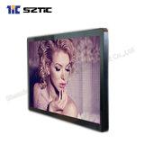 55  65  het Infrarode LCD van de Aanraking Scherm van de Vertoning HD van het Glas 1080P van het Glas van de Speler van de Advertentie het Scherm Aangemaakte