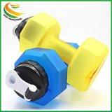 Portable Dumbell 2.2L à grande capacité de l'hydrate d'eau potable de Fitness Sport bouteille
