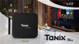 Firmware Allwinner Android Market 9.0 Caixa de TV inteligente Tanix Tx6 H6 4G 32g Stream Bt Mini Leitor multimédia sem fios OEM