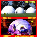 Projection d'arrêt de l'événement Eco Resorts Glamping dôme géodésique de terrain de jeu de serre